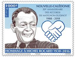 Nieuw-Caledonië / New Caledonia - Postfris / MNH - Eerbetoon Michel Rocard 2018 - Nieuw-Caledonië