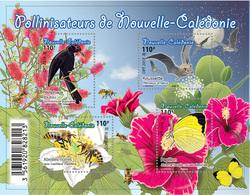 Nieuw-Caledonië / New Caledonia - Postfris / MNH - Sheet Fauna 2018 - Nieuw-Caledonië