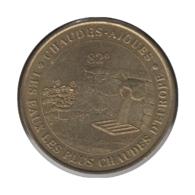 15002 - MEDAILLE TOURISTIQUE MONNAIE DE PARIS 15 - Chaudes Aigues - 2002 - Monnaie De Paris