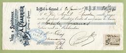 """LIFFOL-LE-GRAND  (88) : """" VINS ET SPIRITUEUX  -  A. CHARRIER """"  1905 - France"""