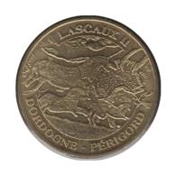 24001 - MEDAILLE TOURISTIQUE MONNAIE DE PARIS 24 - Lascaux II - 2009 - Monnaie De Paris
