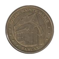 24006 - MEDAILLE TOURISTIQUE MONNAIE DE PARIS 24 - Eglise Ste Marie Sarlat - 2013 - Monnaie De Paris