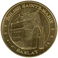 24008 - MEDAILLE TOURISTIQUE MONNAIE DE PARIS 24 - Eglise Ste Marie Sarlat - 2015 - Monnaie De Paris