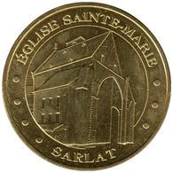 24009 - MEDAILLE TOURISTIQUE MONNAIE DE PARIS 24 - Eglise Ste Marie Sarlat - 2015 - Monnaie De Paris