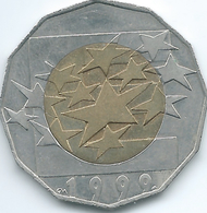 Croatia - 5 Kuna - 1999 - Start Of The Euro - KM64 - Croatia