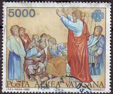 VAT 1983 A74 Posta Aerea San Paolo  Fu - Vatican