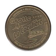 30001 - MEDAILLE TOURISTIQUE MONNAIE DE PARIS 30 - Grotte De La Cocalière - 2010 - Monnaie De Paris
