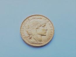 Superbe Pièce De 20 Francs Marianne Or 1902 - L. 20 Franchi