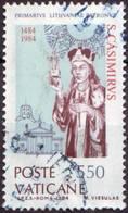 VAT 1984 747 San Casemiro   Fu - Vatican