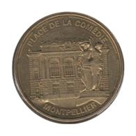 34005 - MEDAILLE TOURISTIQUE MONNAIE DE PARIS 34 - Place De La Comédie - 2014 - Monnaie De Paris