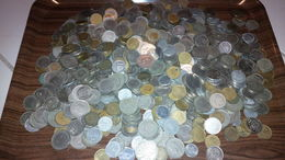 LOT 5 KILOS MONNAIES ESPAGNE - Munten & Bankbiljetten