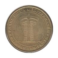 34009 - MEDAILLE TOURISTIQUE MONNAIE DE PARIS 34 - Phare De La Méditerrenée - 2012 - Monnaie De Paris