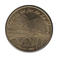 38004 - MEDAILLE TOURISTIQUE MONNAIE DE PARIS 38 - Chemin De Fer De La Mure - 2006 - Monnaie De Paris