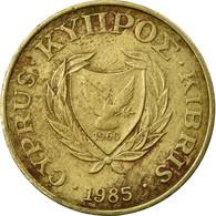 Monnaie, Chypre, 5 Cents, 1985, TB, Nickel-brass, KM:55.2 - Chypre
