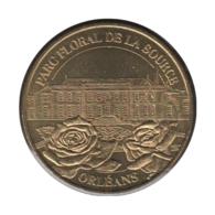 45003 - MEDAILLE TOURISTIQUE MONNAIE DE PARIS 45 - Parc Floral De La Source - 2003 - Monnaie De Paris