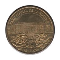 45004 - MEDAILLE TOURISTIQUE MONNAIE DE PARIS 45 - Parc Floral De La Source - 2003 - Monnaie De Paris