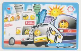 Singapore Subway Bus Ticket Farecard  Used - Subway