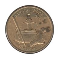 63011 - MEDAILLE TOURISTIQUE MONNAIE DE PARIS 63 - Super Besse - 2013 - Monnaie De Paris