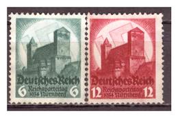 DR: 1934: Nr. 546/47, Postfrisch - Deutschland