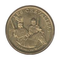 63030 - MEDAILLE TOURISTIQUE MONNAIE DE PARIS 63 - Château De Murol Les Chevaliers - 2015 - Monnaie De Paris