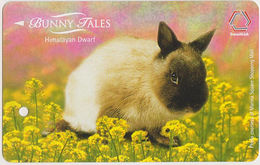 Singapore Subway Bus Ticket Farecard Rabbit Himalayan Dwarf Used - Metro