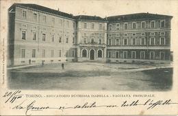 Torino (Piemonte) Educatorio Duchessa Isabella, Facciata Principale - Enseignement, Écoles Et Universités