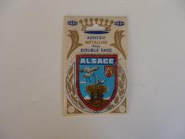 Autocollant Sur L'Alsace. - Autocollants