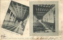 Torino (Piemonte) Educatorio Duchessa Isabella, Salone Per Balli E Feste , Oratorio - Education, Schools And Universities