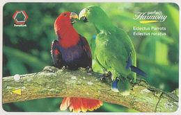 Singapore Subway Bus Ticket Farecard Bird Parrot Used - Metro