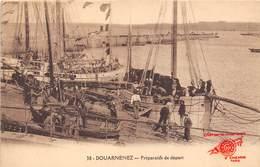 29-DOUARNENEZ- PREPARATIFS DE DEPART - Douarnenez