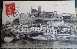 Cpa - 34 - Béziers - Vue Générale 1908 - Beziers