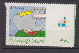 FRANCE-2006-N°3972B** BABAR-LOGO PRIVE-AUTOADHESIF - Personalized Stamps