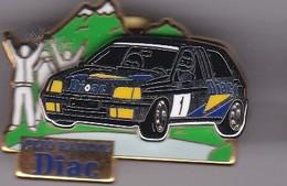 Pin's  CLIO RALLYE DIAC SIGNE ARTHUS BERTRAND - Renault
