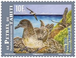 Frans-Polynesië / French Polynesia - Postfris / MNH - Complete Set Vogels 2019 - Ongebruikt
