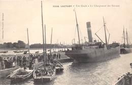 29-LOCTUDY- LES QUAIS- LE CHARGEMENT DES BATEAUX - Loctudy