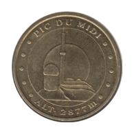 65003 - MEDAILLE TOURISTIQUE MONNAIE DE PARIS 65 - Pic Du Midi - 2009 - Monnaie De Paris
