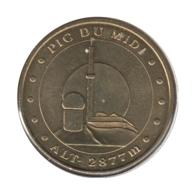 65006 - MEDAILLE TOURISTIQUE MONNAIE DE PARIS 65 - Pic Du Midi - 2010 - Monnaie De Paris