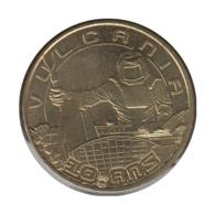 63049 - MEDAILLE TOURISTIQUE MONNAIE DE PARIS 63 - 10 Ans Vulcania - 2012 - Monnaie De Paris