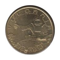 63046 - MEDAILLE TOURISTIQUE MONNAIE DE PARIS 63 - 10 Ans Vulcania - 2012 - Monnaie De Paris