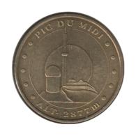 65002 - MEDAILLE TOURISTIQUE MONNAIE DE PARIS 65 - Pic Du Midi - 2010 - Monnaie De Paris