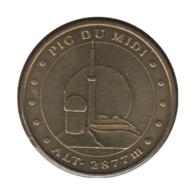 65004 - MEDAILLE TOURISTIQUE MONNAIE DE PARIS 65 - Pic Du Midi - 2010 - Monnaie De Paris