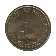 65005 - MEDAILLE TOURISTIQUE MONNAIE DE PARIS 65 - Pic Du Midi - 2010 - Monnaie De Paris