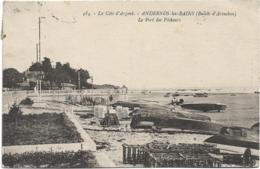 D33 - ANDERNOS LES BAINS - LE PORT DES PÊCHEURS - Nombreuses Barques - Andernos-les-Bains