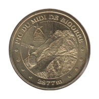 65008 - MEDAILLE TOURISTIQUE MONNAIE DE PARIS 65 - Pic Du Midi De Bigorre - 2011 - Monnaie De Paris
