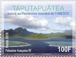 Frans-Polynesië / French Polynesia - Postfris / MNH - Unesco, Werelderfgoed 2018 - Ongebruikt