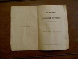 Oud Boekje 1875  De FIERTEL  Procession  Historique  DE  RENAIX - Renaix - Ronse
