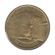 66003 - MEDAILLE TOURISTIQUE MONNAIE DE PARIS 66 - Villefranche De Conflent - 2014 - 2014