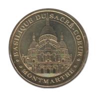 75005 - MEDAILLE TOURISTIQUE MONNAIE DE PARIS 75 - Sacré Coeur - 2010 - Monnaie De Paris