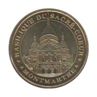 75006 - MEDAILLE TOURISTIQUE MONNAIE DE PARIS 75 - Sacré Coeur - 2010 - Monnaie De Paris