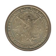 75014 - MEDAILLE TOURISTIQUE MONNAIE DE PARIS 75 - Mosaïque Du Sacré Coeur - 2010 - Monnaie De Paris